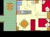 Plan du chalet l'Alouette