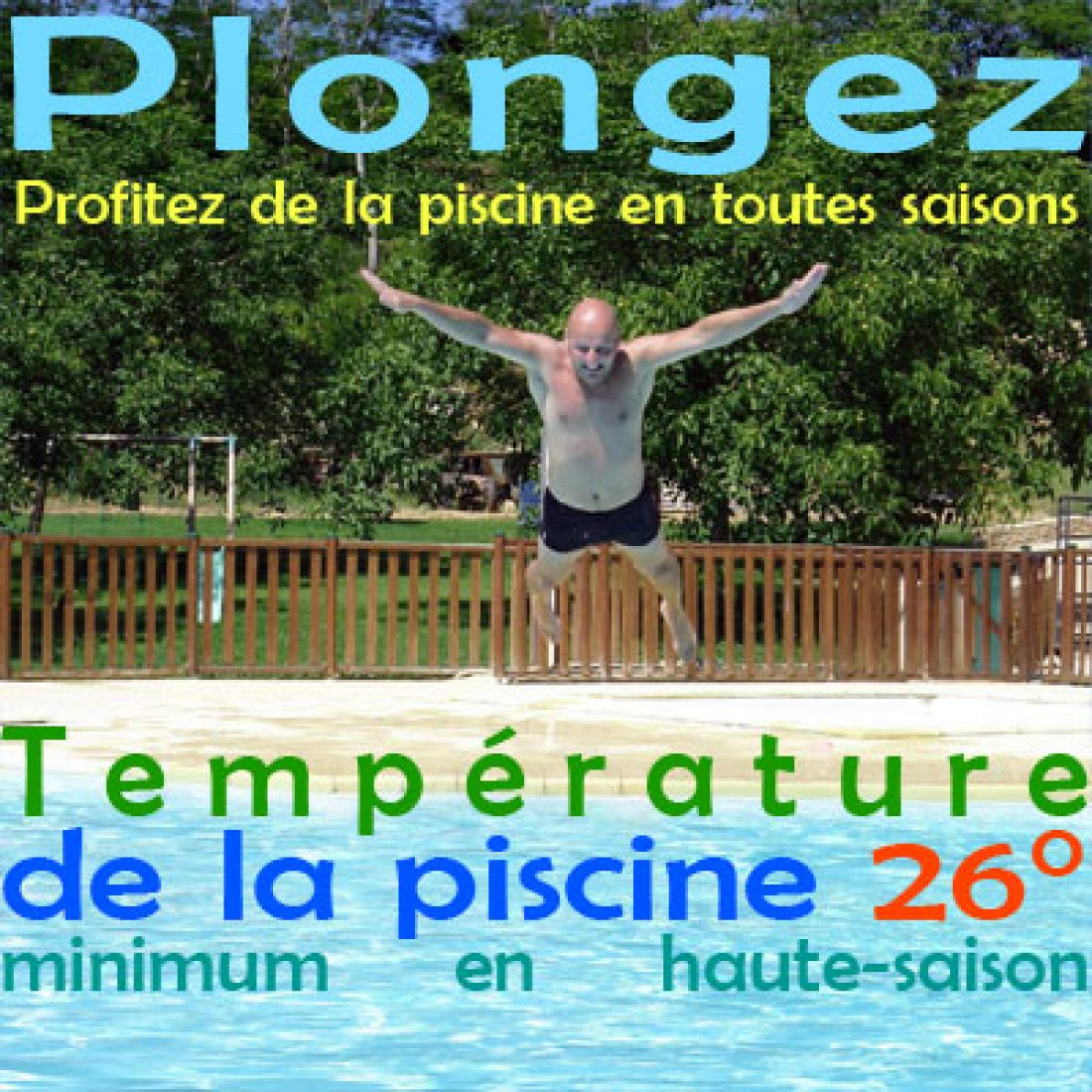 Grande piscine couverte